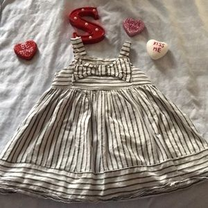 Other - 🛍5/$10🛍Striped toddler dress 🎀18 months🎀
